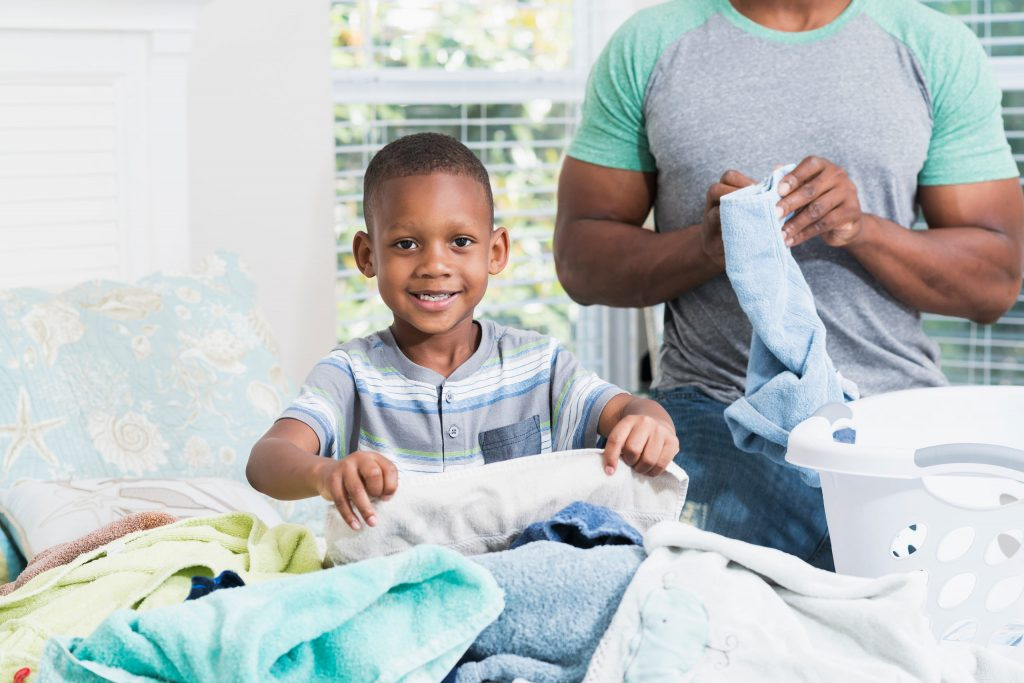 boy-and-father-laundry